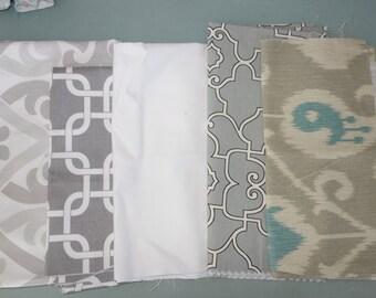 Remnant/Scrap Fabric - Grey fabric