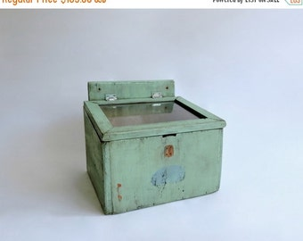 Half Price SALE Industrial Factory Storage Box from Alabama Textile Mill