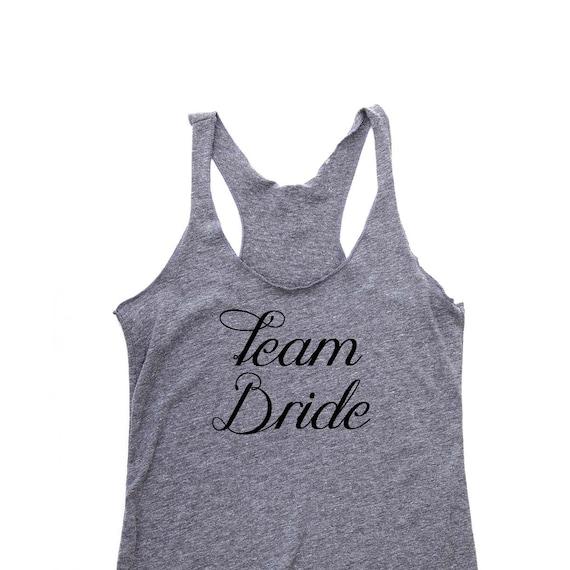 Team Bride Shirts, Bridesmaid Gift, Bridesmaid Shirts, Maid of Honor Gift, Bridesmaid Tank Tops, Bachelorette Party Shirts, Bride Shirt
