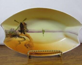 Vintage Nippon WindMill Dish