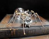 Steampunk Spider - Steampunk Sculpture - Steampunk Figurine - Steampunk Art