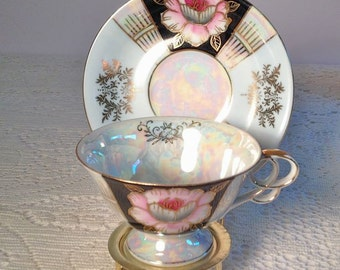 Vintage cup and saucer UCAGCO China