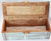 Rustic Tea Box Mint