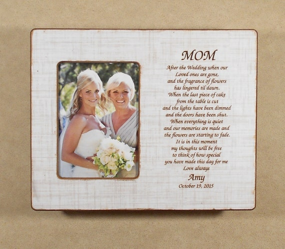 Wedding Gifts For Mom From Bride : Wedding Gift Mom Bride Gift to Mom Bride Wedding Gift After The ...
