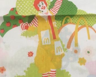 Vintage Ronald McDonald Standard Pillowcase
