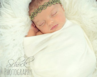 Newborn Wrap Ivory Baby Wrap Baby Stretch Knit Wrap Cream Baby Wrap Newborn Photo
