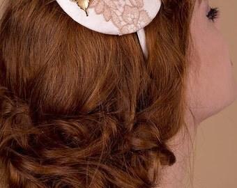 50% Off Leaf Bridal Hairband Fascinator