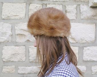 Vintage 60 mink Fur Hat
