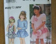 Simplicity 9076, Girl's Dress, Girl's Panties and Bag