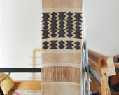 Handwoven wall hanging/Weaving/ Cotton & Linen