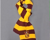 Harry Potter, Harry Potter Scarf, Harry Potter Costume, Harry Potter cosplay, Harry Potter Party Favor, Harry Potter Birthday Favors