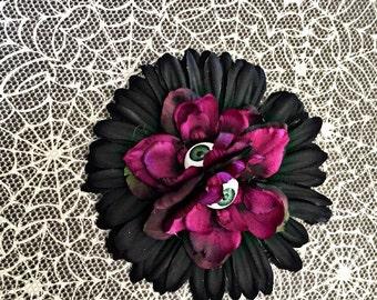 Psychobilly eyeball flower