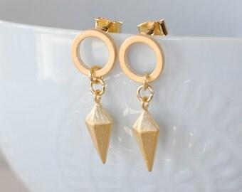 The Celia Earrings - Gold