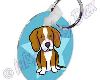 Cartoon Beagle Keychain