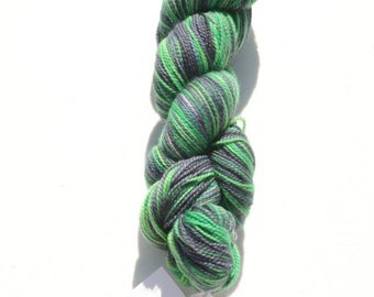 Slytherin Self Striping Yarn- Dyed To Order