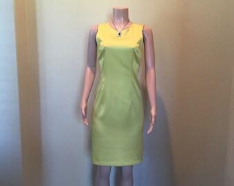 Mustard Yellow Sheath Dress