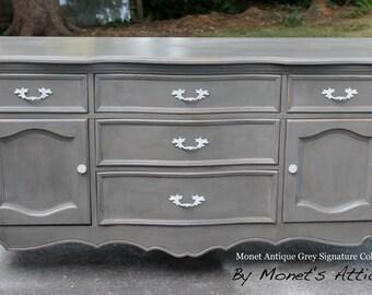 "Dresser / Buffet in Monet's ""Antique Grey Collection"""