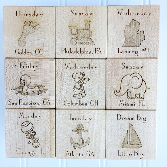 Personalized baby block new baby gift newborn baby gift personalized baby block new baby gift newborn baby gift personalized baby gift newborn gift wooden baby block nursery decor gift for twins negle Choice Image