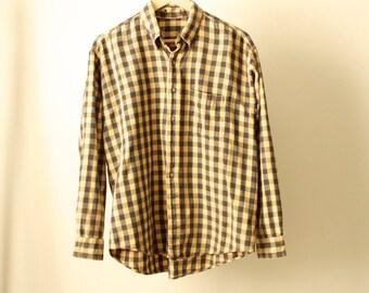 GRUNGE 90s nirvana FLANNEL shirt oversize cozy