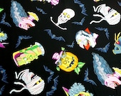 "2 1/2 Yards of ""Halloween Haunt"" from the Alexander Henry Fabrics Collection Fabric"