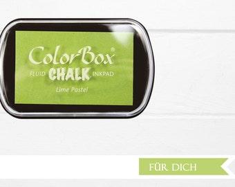 ?? XL lime pastel chalk Inkpad