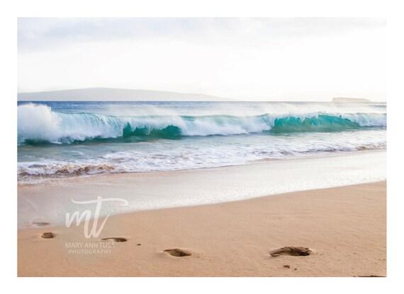 Waves Crashing at Makena Beach in Maui Hawaii