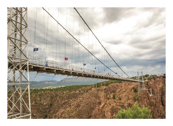 Fine Art Photography, Royal Gorge Suspension Bridge in Colorado