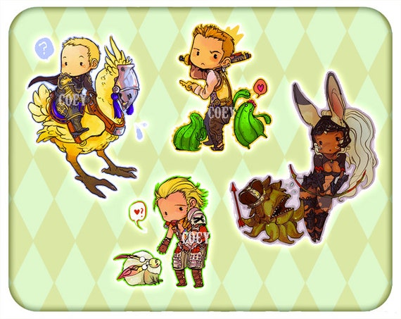 Coey: Final Fantasy 12 (Stickers)