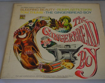 Vintage Children's Fairy Tale Record: The Gingerbread Boy Album CH-1032