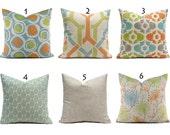 Pillow Covers ANY SIZE Decorative Pillow Cover Tan Pillows Ecru Pillows Ridgeland You Choose