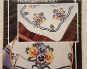 Wonder Art Embroidery Dresser Scarf Kit