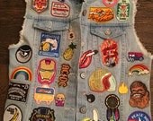 BRAND NEW** With tags Rails Denim vest with  new patches