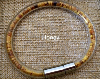 Honey/ Pollen bracelet hand made