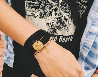 Good Karma Choker - Silk Wrap Bracelet