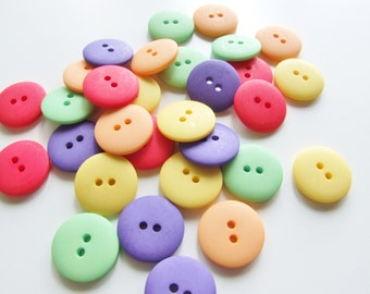 20mm Circus Matt Button Collection [B0746]