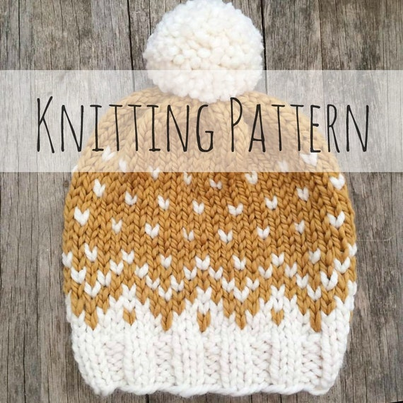 Knitting Patterns For Baby Toques : Mountain Toque Knitting Pattern Fair Isle Fair Isle Knit