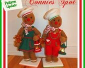 Chip & Cookie Christmas Gingerbread Doll Pattern© Updated!!