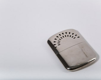 Deco Chrome Pocket Warmer Vintage David T. Abercrombie Company