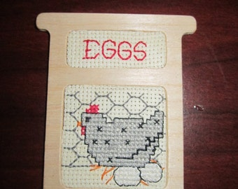 Hen and Eggs Refrigerator Magnet