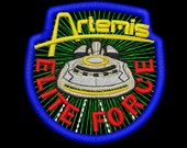 Artemis Elite Force Insignia Iron-On Patch
