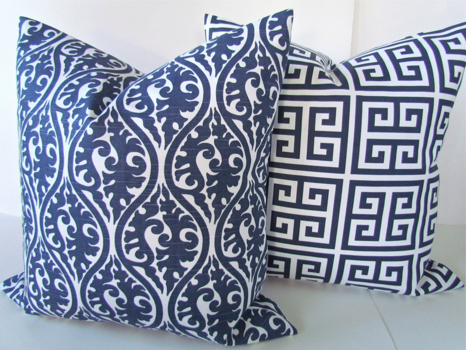 Blue Pillows Blue Throw Pillows Navy Blue By Sayitwithpillows