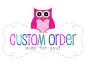 Custom Order: Amanda Rice