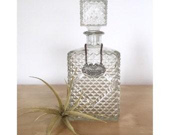 Ornate Rye or Scotch Decanter