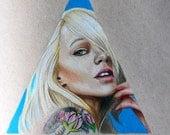 Leah Jung InkedMag Cover Model: One of a Kind Reese Hilburn Art