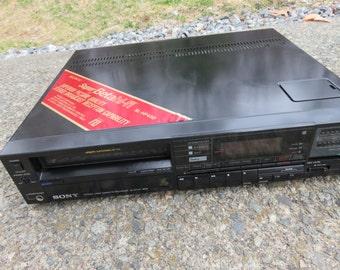 working Sony SL-HF450 super beta stereo hi-fi vcr