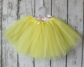 Yellow SIGNATURE TUTU : The Paper Doll