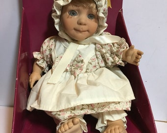 """Berenguer baby doll, Expressions 8"""" baby made of vinyl, for rebirth"""