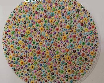 xxl abstrakt art painting acryl plexiglas  140  cm 55  inch