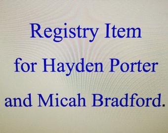 Registry Item for Hayden Porter and Micah Bradford Soup Bowl
