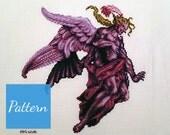 Kefka Final Form (Final Fantasy VI) Cross Stitch Pattern featured image